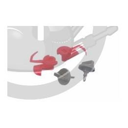 Verrouillage mecanique grille filtre Hotte X2, 00181272