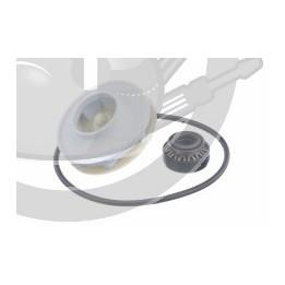 Turbine + joint pompe cyclage lave vaisselle, 00174730