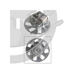 Moteur + turbine chaleur tournante four Rosieres, 93639110