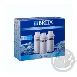 Brita cartouche filtrante classic Pack X3, 205386