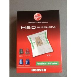 Sacs apsirateur Hoover H60 PUREHEPA