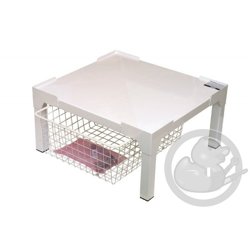 socle avec tiroir lave linge seche linge 50281731005 coin pi ces. Black Bedroom Furniture Sets. Home Design Ideas