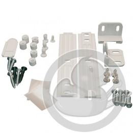 Kit glissiere porte pour refrigerateur integrable Whirlpool, 481231028208
