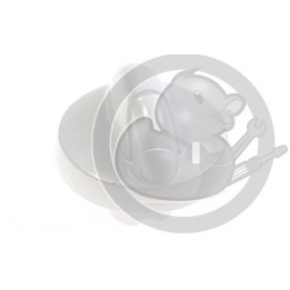 Manette blanche four Electrolux, 3550164010