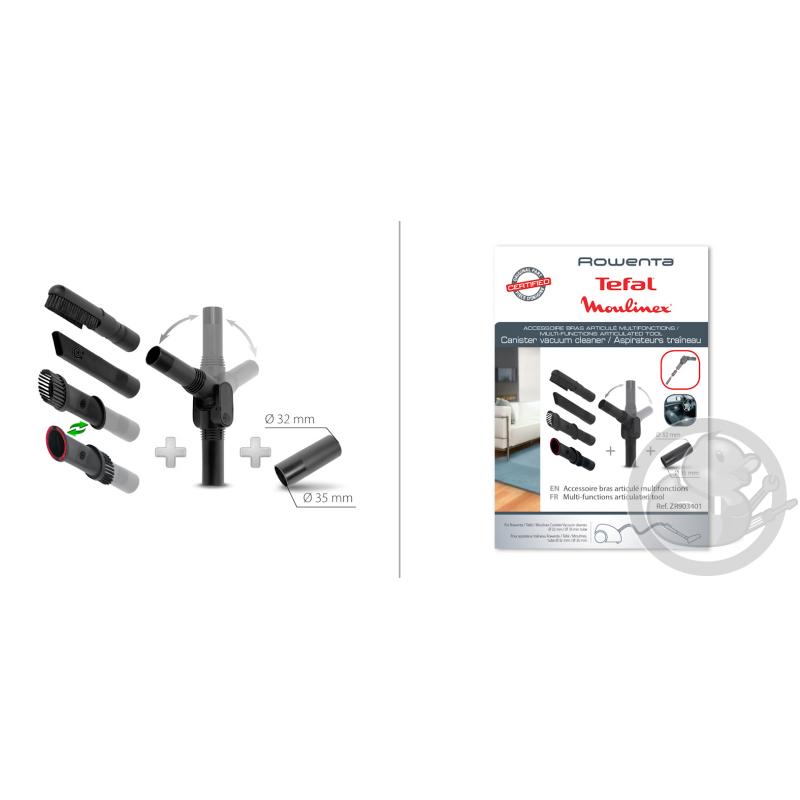Bras articul multifonction accessoire aspirateur rowenta seb t fal zr903401 coin pi ces - Accessoire aspirateur rowenta ...