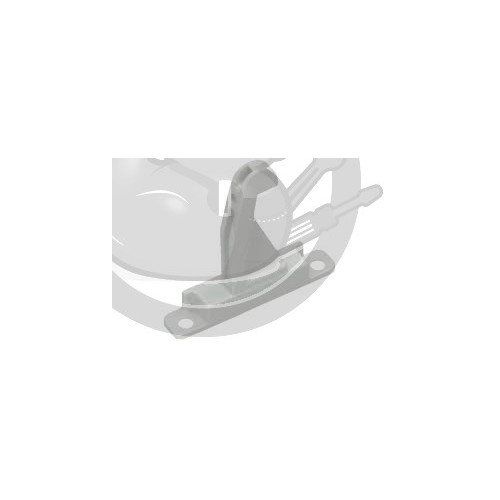 Crochet porte séche linge, Bosch, Siemens, 00154074