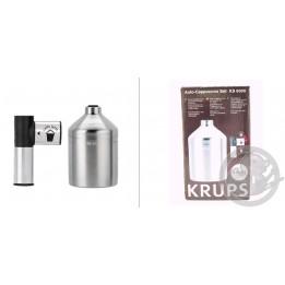 Accessoire cappuccino + pot à lait inox Krups XS600010