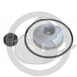 Kit turbine+joint pompe cyclage lave vaisselle, 00419027