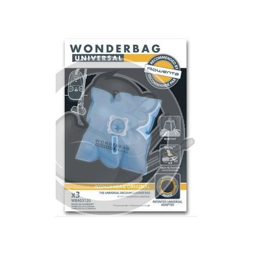 Sacs wonderbag original WB403120 x3