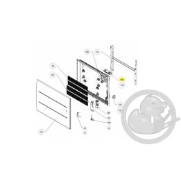 Boitier de commande digital atl radiateur Atlantic Thermor 087242