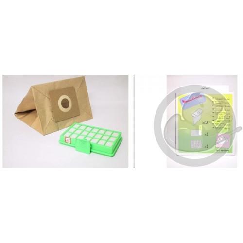 Sac papier + filtre HEPA MT000101