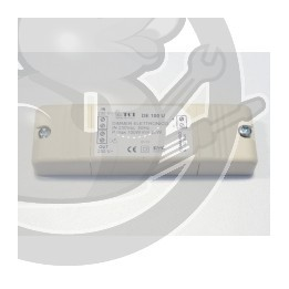 Tranformateur alimentaion ampoule hotte Whirlpool, 481221479861