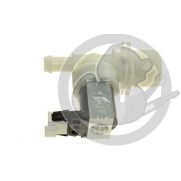 Electrovanne 1 voie 180degre lave vaisselle Whirlpool, 480140102032
