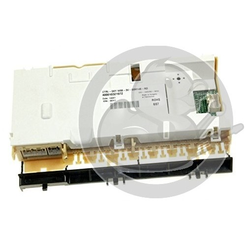 Platine controle vierge SKYW lave vaisselle Whirlpool, 481010452616
