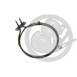 Resistance circulaire 2000W four Whirlpool, 480121101186