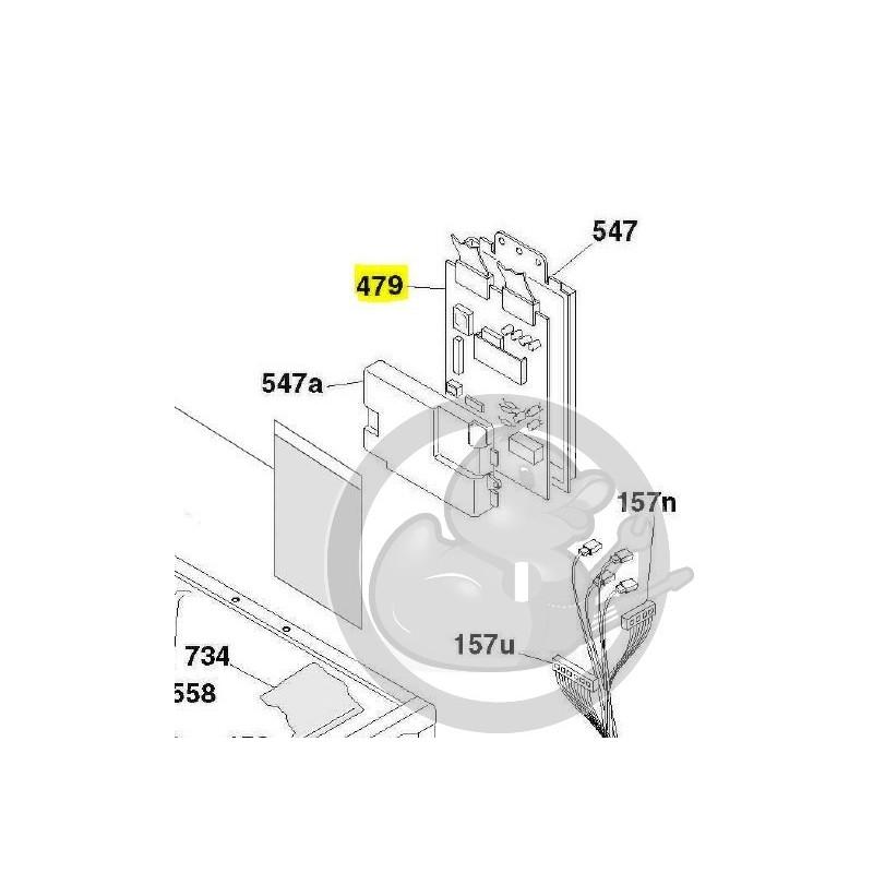 module puissance lave linge candy 49027507 coin pi ces. Black Bedroom Furniture Sets. Home Design Ideas
