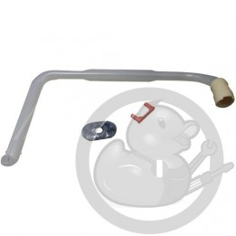 Tube alimentation bras lave vaisselle Electrolux, 4071348173