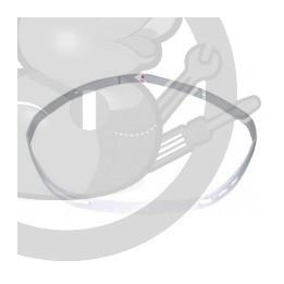 Feutre avant tambour seche linge Electrolux, 1258746021