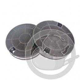 Filtre charbon X2 hotte Whirlpool, 481249038013