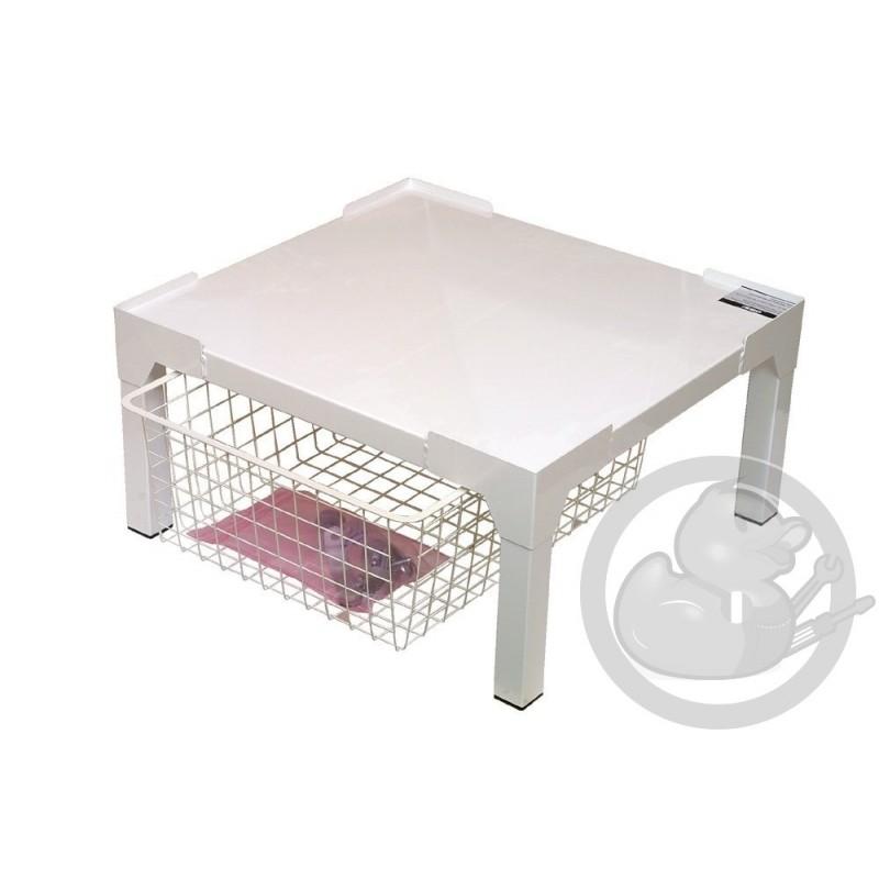 socle avec tiroir lave linge seche linge 50281731005. Black Bedroom Furniture Sets. Home Design Ideas