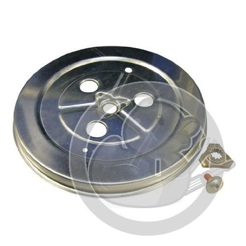 Poulie Tambour Lave Linge Brandt 52x6225 Coin Pièces