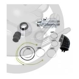 Resistance + capot Pompe de Cyclage lave vaisselle Whirlpool, 481225928925, 480131000096
