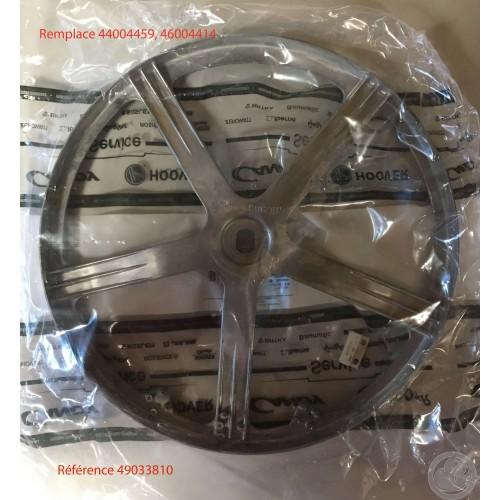 Poulie tambour lave linge Candy, 46004459 46004414 49033810