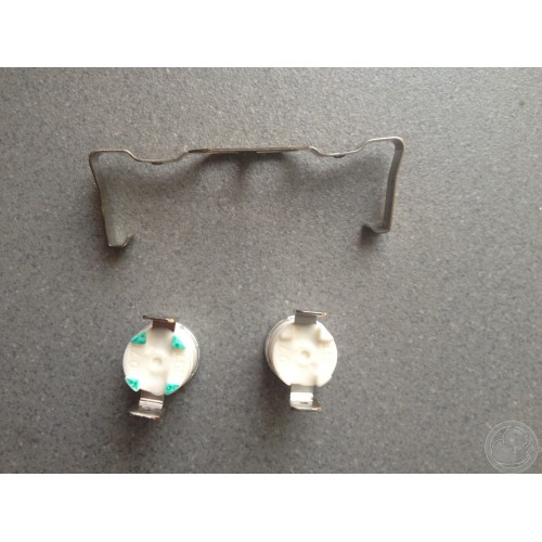 Kit 2 thermostat resistance pour seche linge Whirlpool 481225928681