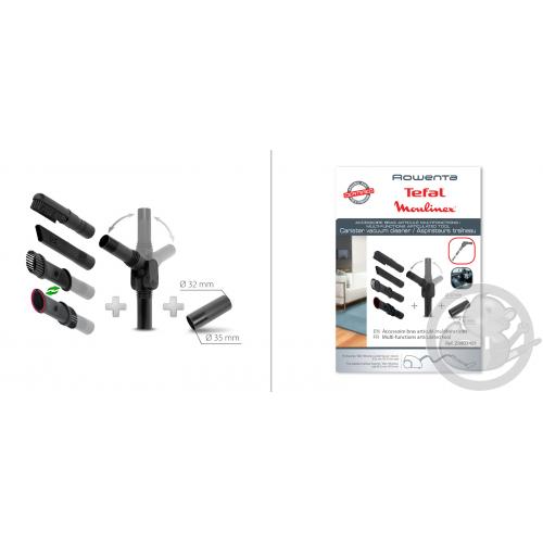 Bras articulé multifonction accessoire aspirateur Rowenta Seb Téfal ZR903401