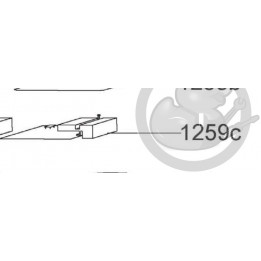 Carte puissance droit induction Candy 49017827