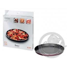 Plat crisp D32 AVM305 micro onde Whirlpool 480131000085