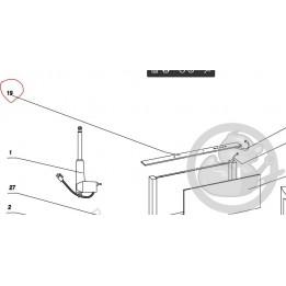 Bandeau verre hotte DHD7000X De Dietrich AS0001706