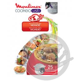 Clé USB recettes du Monde Cookeo Moulinex XA600111
