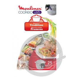 Clé USB recettes Tradition Cookeo Moulinex XA600211