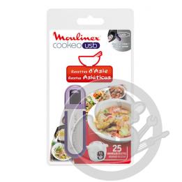 Clé USB recettes d'Asie Cookeo Moulinex XA600311