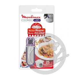 Clé USB recettes Bistrot Cookeo Moulinex XA600411