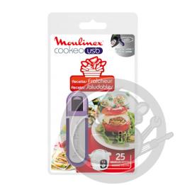 Clé USB recettes Fraîcheur Cookeo Moulinex XA600511