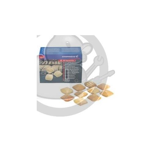 ACCESSOIRE BRIQUETTES (40 PCS), CAMPINGAZ 63445