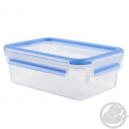 Masterseal Fresh boite rectangle 1L format classique bleue Tefal K3021212