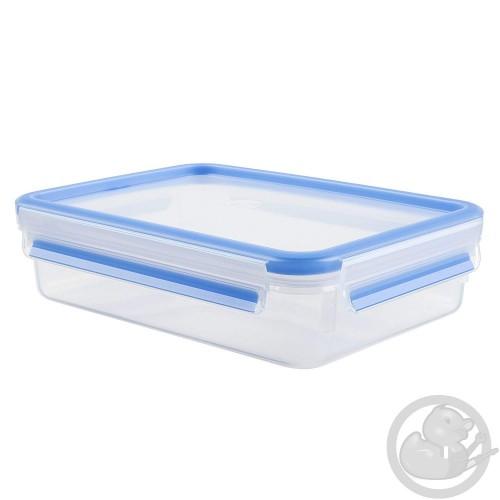 Masterseal Fresh boite rectangle 1.2L format classique bleue Tefal K3021412
