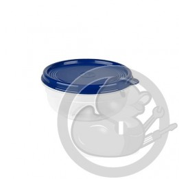 Superline boîte ronde 0.4L bleue K3111012