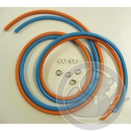 Campingaz Tuyau O2 butane + colliers + clip 1.5M 17493