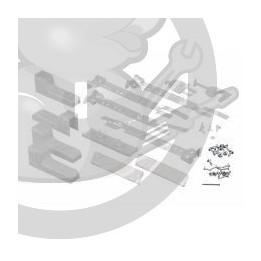 Jeu fixation réfrigérateur Bosch 00491367