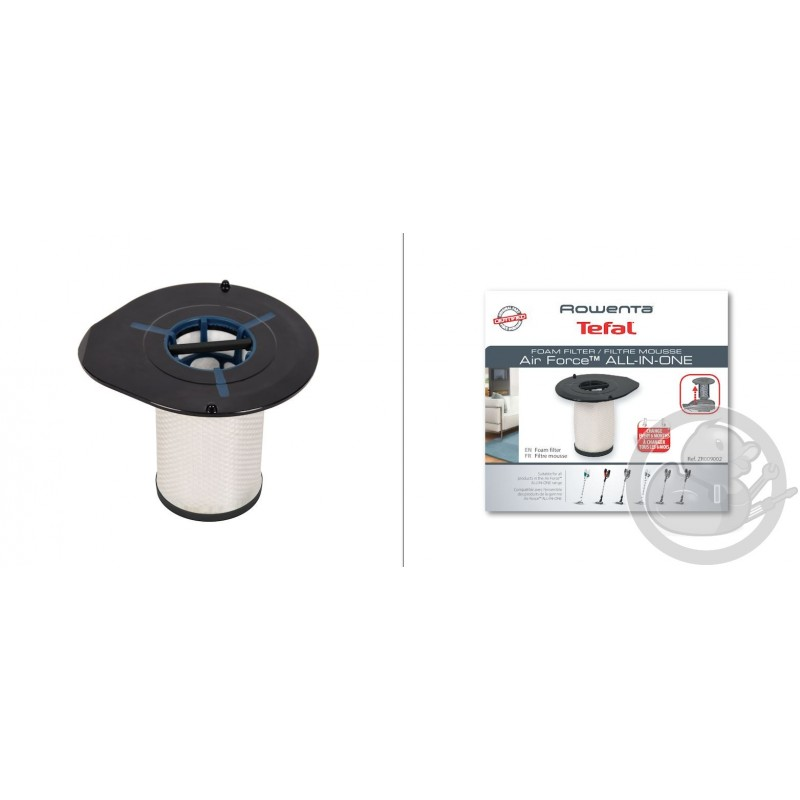 Filtre mousse aspirateur air force all-in-one 460 Rowenta ZR009002
