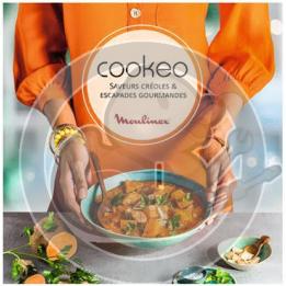 """Livre de recettes """"Saveurs créoles & escapades gourmandes"""" Cookeo Moulinex XR510000"""