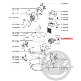 Moteur + hélice + rondelle friteuse actifry Tefal SS-1530000235