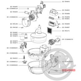 Cordon alimentation friteuse actifry Tefal SS-1530000694
