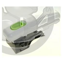 Poignée Friteuse blanche + bouton vert + vis, SS992252